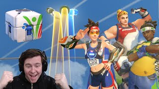 LEGENDARIES EVERYWHERE! Unboxing 101 Summer Game Cases! New Overwatch Skins, and Highlight Intros!