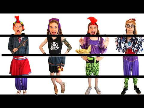 WE RE ALL MIXED UP PUT OUR FANCY DRESS OUTFITS BACK TOGETHER Challenge By The Norris Nuts