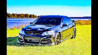 522kw 2015 Holden VF Commodore in the USA. Chevy SS Sedan. Car Reviews Unplugged PART 1