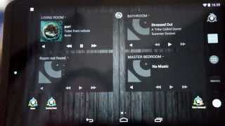 Automated home control via Android Tablet
