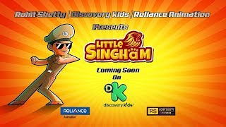 Little Singham Coming Soon to Discovery Kids – Little Singham Teaser, Kids Cartoon @ Discovery Kids