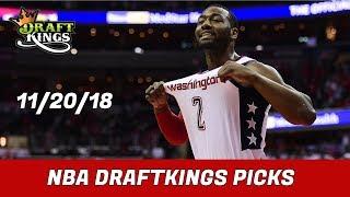 11/20/18 NBA DraftKings Picks - Money Six