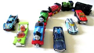 Street Vehicles For Kids Hot Wheels Cars Thomas Train Steam Engine Luke Victor Pickup Trucks