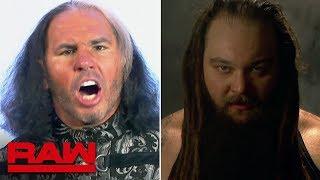 """Woken"" Matt Hardy and Bray Wyatt verbally spar before WWE Elimination Chamber: Raw, Feb. 19, 2018"