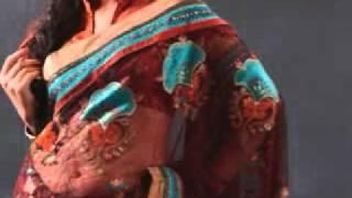 robes de soirée Saree Collection !!!