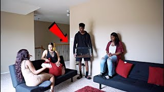 DON'T PANIC!!! I LOST MY SPIDER PRANK ON BABY MAMA CREW!!!