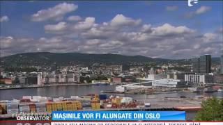 Circulaţia maşinilor personale va fi interzisă în centrul capitalei norvergiene