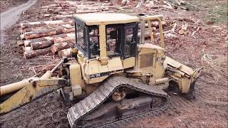 Hand Felling- Logging- From A New Perspective Drone View