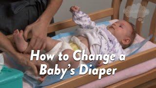 How to Change a Baby's Diaper   CloudMom
