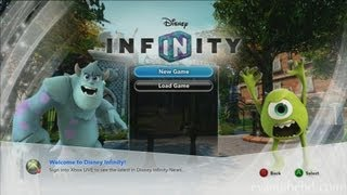 Let's Play Disney Infinity MONSTER'S UNIVERSITY Play Set (Part 1)