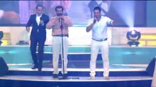 اجرای خنده دار و مشترک  حسن ریوندی و یوسف کرمی در جزیره کیش