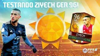 Fifa Mobile - Testando Ziyech GER 96! (Evento de Comemoração de Verão)