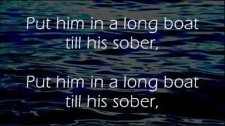 Drunken' Sailor - Irish Rovers - Lyrics ,