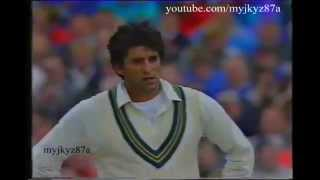 Wasim Akram one of the BEST 5 wickets haul *Rare Gold*