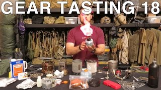 Gear Tasting 18: A Multitude of Multi-Tools and Outdoor Cooking Necessities