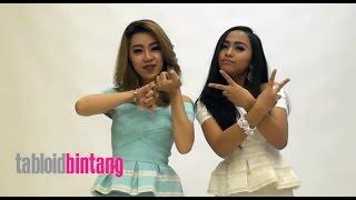 2 Putri Bahar Rilis Single Baru, Lihat Aksi Mereka di Studio Tabloidbintang.com