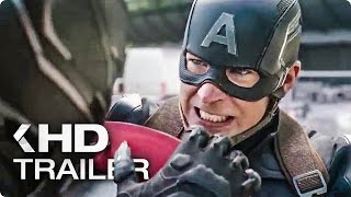 CAPTAIN AMERICA 3: Civil War Trailer Compilation (2016)