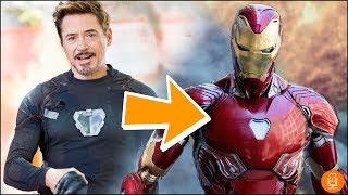 Iron Man Avengers Infinity War Armor Theory & Possible Spoiler