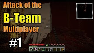 Minecraft| Attack of the BTeam| Server| E01 Mad Grab for Power