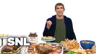 Michael Phelps Diet - Saturday Night Live