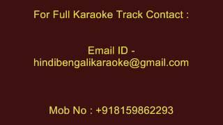 Jibone Amar Aro Achhe Gaan - Karaoke - Kumar Sanu