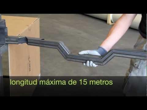 doblar tubos de acero sin dobladora CMM laser