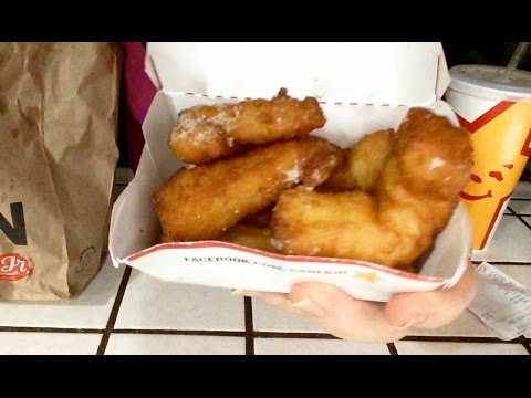 Carl's Jr. French Toast Dips Review, Info, ASMR Soft Spoken, Nice Eating Sounds, With Syrup