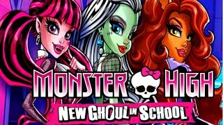 MONSTER HIGH NEW GHOUL IN SCHOOL ENGLISH FULL MOVIE GAME SHOW