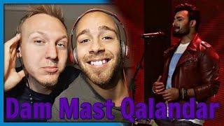 Umair Jaswal & Jabar Abbas, Dam Mast Qalandar, Coke Studio Season 10, Episode 6 | Reaction by RnJ