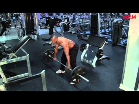 MEM Gym Boys - V Shape Back Work Out