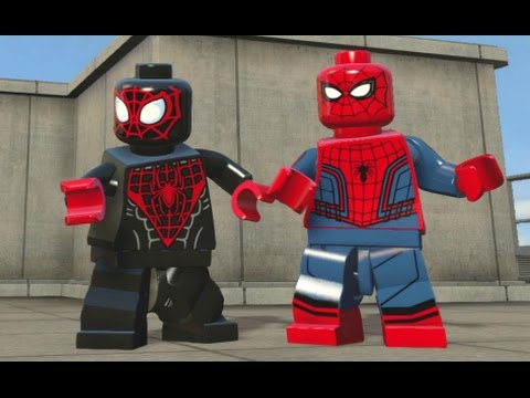 LEGO Marvel s Avengers All Spider Man Characters Spider Man DLC Pack Free Roam
