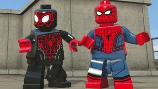 LEGO Marvel's Avengers - All Spider-Man Characters (Spider-Man DLC Pack Free Roam)