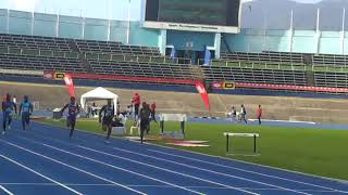Christopher Taylor 10.57 (-3.4m/s): Camperdown Classic 2018