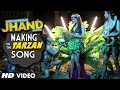 Making of the Tarzan Song | Kuku Mathur Ki Jhand Ho gayi | Anu Malik | Anmol Malik | Parichay