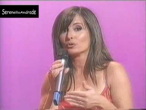 Serenella Andrade e o vestido vermelho