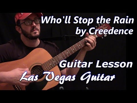 Who'll Stop the Rain by Creedence Clearwater Revival Guitar Lesson