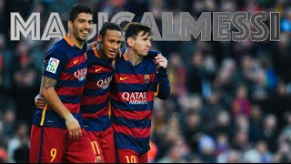 MSN - Messi, Suárez and Neymar Jr. - The Deadly Trio - 2015-2016 - HD