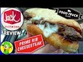 Jack In The Box®   Prime Rib Cheesesteak   Food Review! 🤡🥖🥩🧀