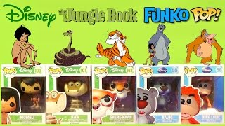 The Jungle Book Funko Pop Complete Set featuring Mowgli, Baloo and King Louie | TUYC Toys Unlimited