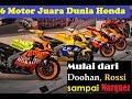 Download Video 5 Motor juara dunia honda , mulai dari doohan, Rossi hingga Marquez 3GP MP4 FLV