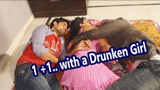 Two Boys with a Drunken Aunty - two boys enjoying one young aunty
