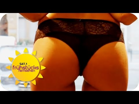 Sexy Wäsche-Blitzer | SAT.1 Frühstücksfernsehen