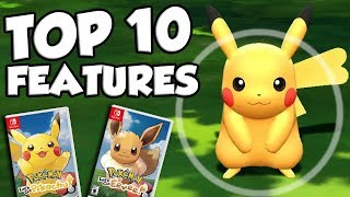 Top 10 BEST NEW FEATURES In Pokemon Let