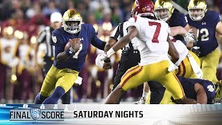 Highlights: Tough first half sinks USC football in loss to Notre Dame