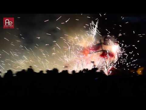 TORITOS PIROTECNICOS FERIA NACIONAL DE LA PIROTECNIA 2016 TULTEPEC