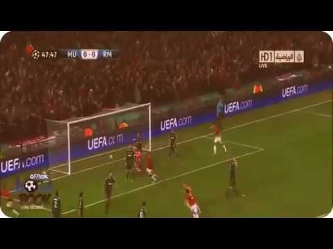 Manchester United 1-2 Real Madrid 05.03.2013 1/8 CL all goals