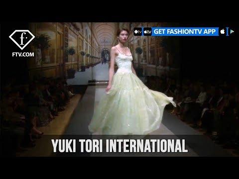 Tokyo Fashion Week Spring/Summer 2018 - Yuki Tori International   FashionTV