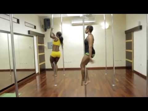 KONFYDENCE   POLE DANCING CLASS / BEHIND THE SCENES