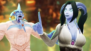 Finding a Draenei Wife in Goldshire Inn | WoW Roleplay
