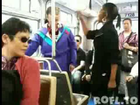 Briga no ônibus